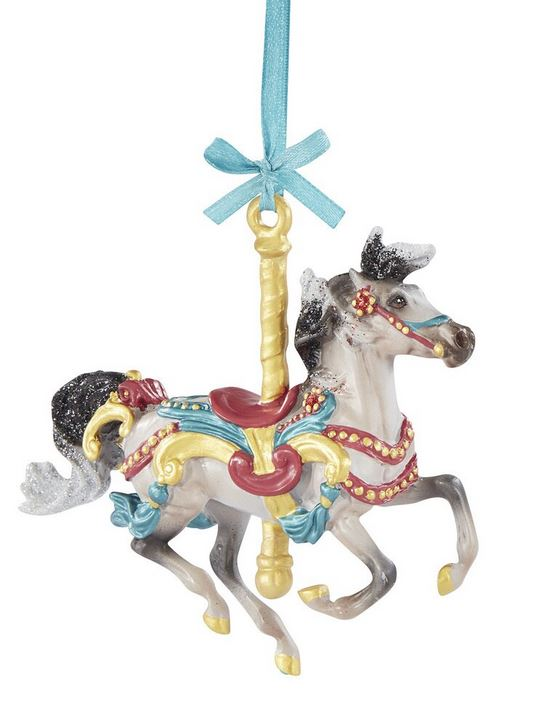 2020 Carousel Ornament ~ Flourish