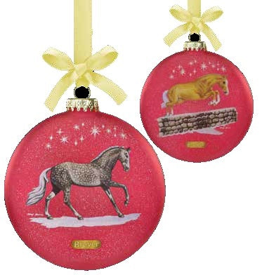 2021 Artist Signature Ornament - Thoroughbred & Warmblood - ADVANCE SALE