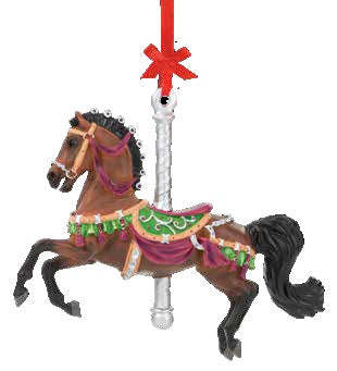 2021 Carousel Ornament - Herald - ADVANCE SALE