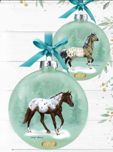 2020 Artist's Signature Ornament ~ Appaloosas - ADVANCE SALE