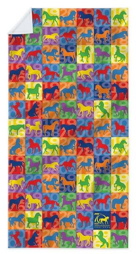 Breyer 70th Anniversary Beach Towel