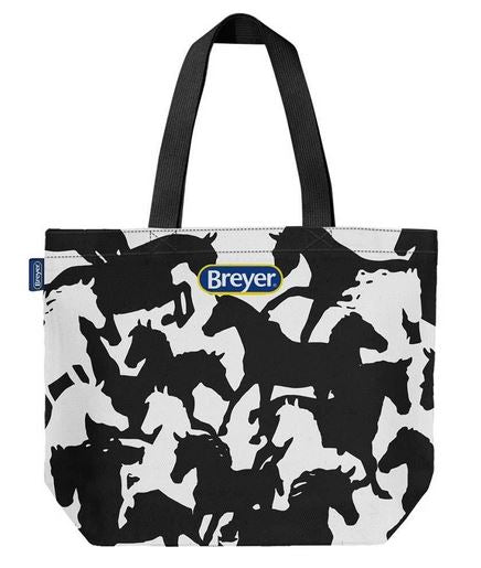 Breyer Equestrian Tote Bag w/ Horse Silhouettes