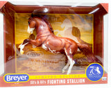 Fighting Stallion, Sorrel Pinto - 70th Anniversary Model