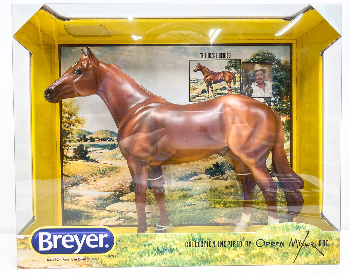 Breyer Ideal Series Quarter Horse First In The Series 1824