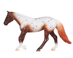 Loping Quarter Horse, Sorrel Appaloosa