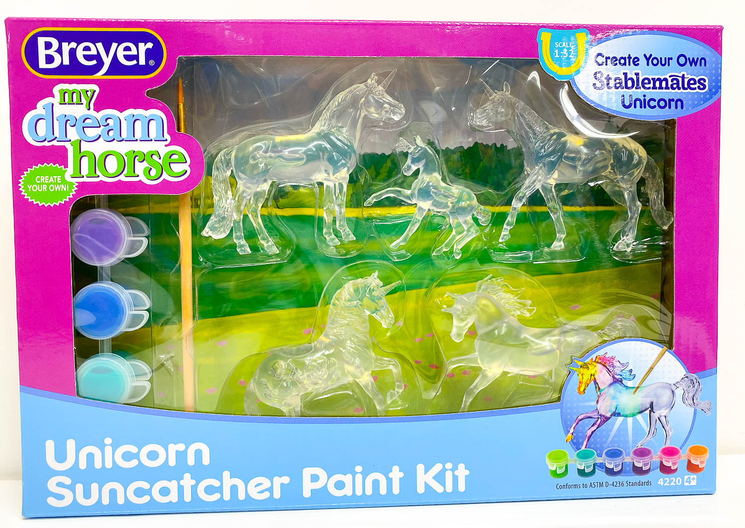 Suncatcher Unicorn Painting Set