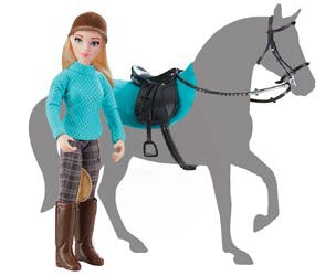 Heather, English Rider and Tack Set - ADVANCE SALE