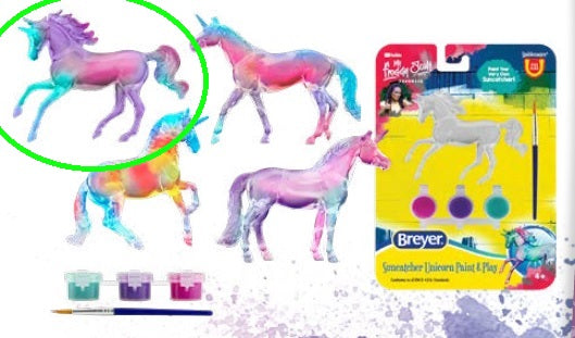 Magnolia - Suncatcher Unicorn Singles Paint & Play - ADVANCE SALE