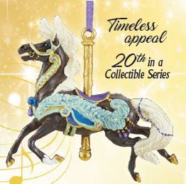 2019 Carousel Ornament ~ Plume - ADVANCE SALE