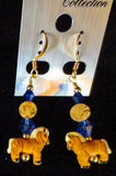Resin Horse Earrings