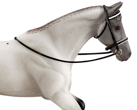 Dressage Bridle - triple-mountain