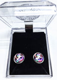 Rainbow Unicorn Post Earrings