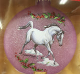 2018 Artist's Signature Ornament ~ Arabians by Kathleen Moody - triple-mountain