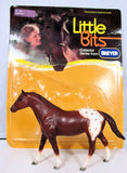Quarter Horse, Chestnut Appaloosa  w/ original Bubble Card