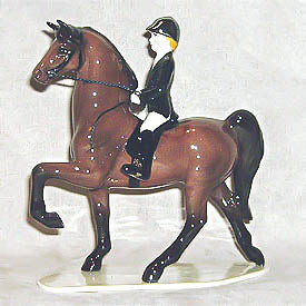 Saddlebred with Rider