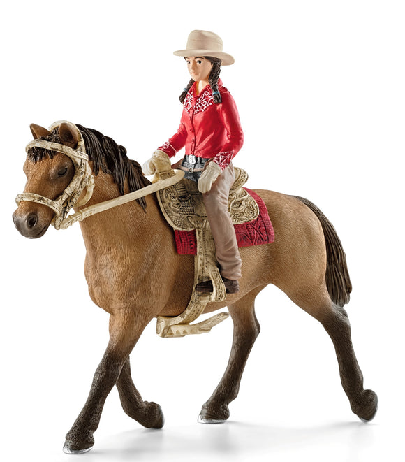 Western Riding Set with Rider