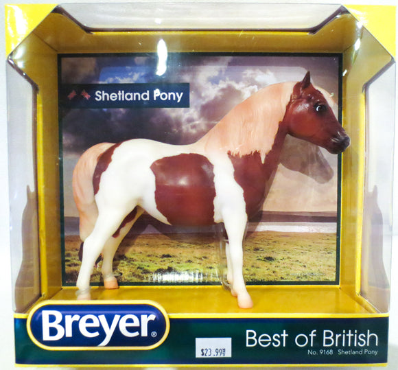 Shetland Pony, Best of British Sorrel Pinto