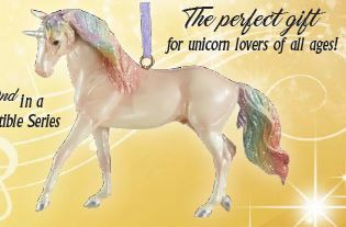 2019 Unicorn Ornament ~ Majesty - ADVANCE SALE