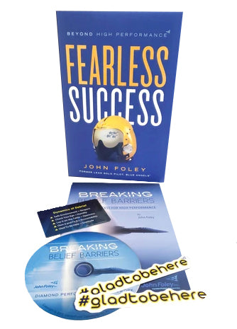 Buy the Fearless Success Book and get the Breaking Beliefs Book and Audio CD FREE