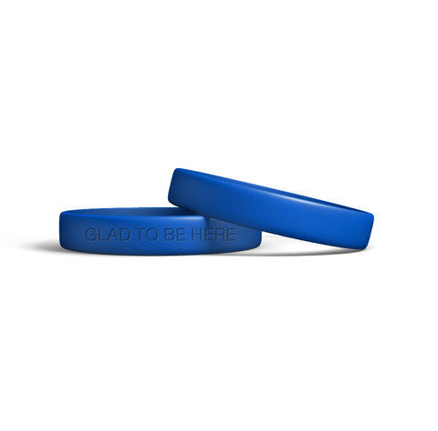 Glad to Be Here ® Wristbands (10/pk)