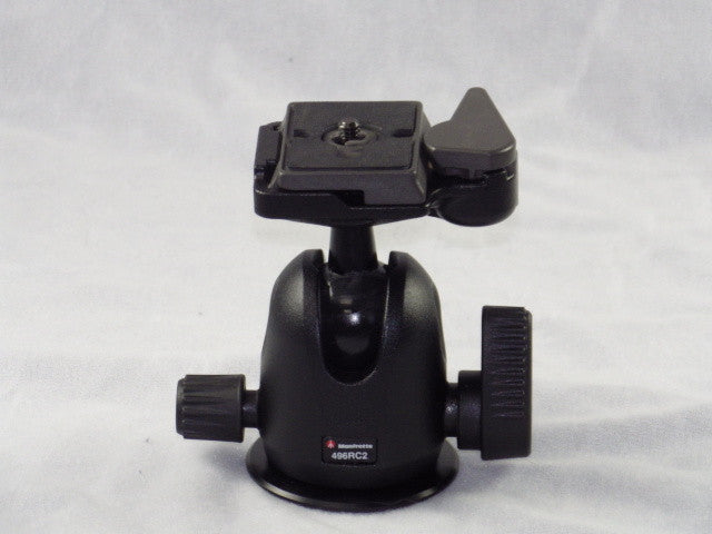 Manfrotto 496RC2 Compact Ball Head with RC2 Quick Release (refurbished)