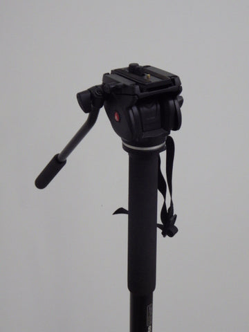 Manfrotto 561BHDV-1 Fluid Video Monopod and Head (refurbished)