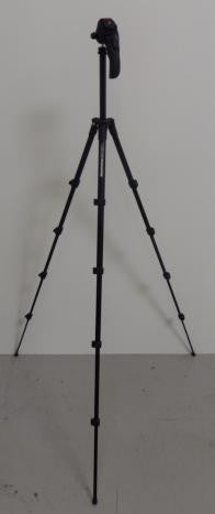 Manfrotto MKC3-H01/H02 Compact Photo-Movie Tripod and Head Combo (refurbished)