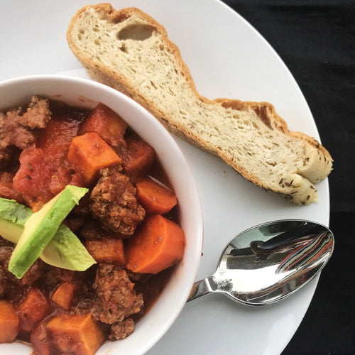Paleo Instant Pot Sweet Potato Chili