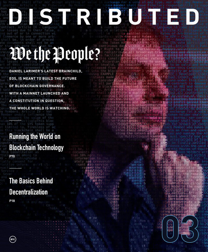 Distributed Issue #3
