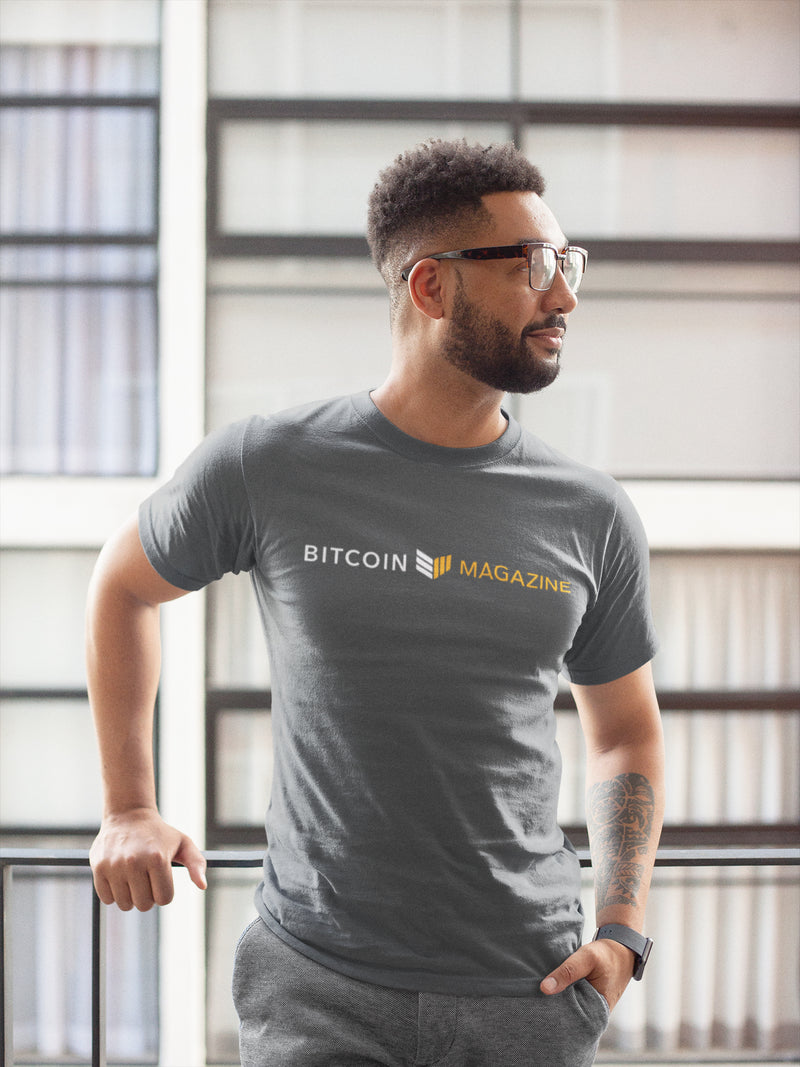 Bitcoin Magazine Logo - Grey