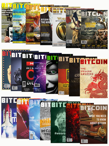 Complete Collection - All 22 Bitcoin Magazine editions