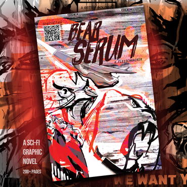 BEAR SERUM_the graphic novel by Kyle Fleischhacker (PDF Download)