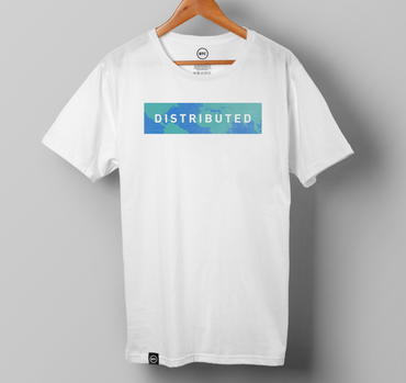Distributed T-Shirt- White