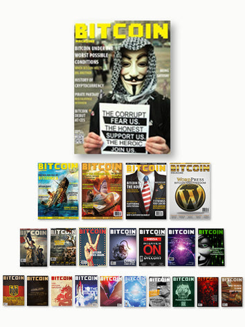 Complete Collection — All 22 Bitcoin Magazine Editions