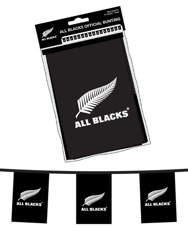 All Blacks®  Bunting - 2 sets.  SAVE $10.00!