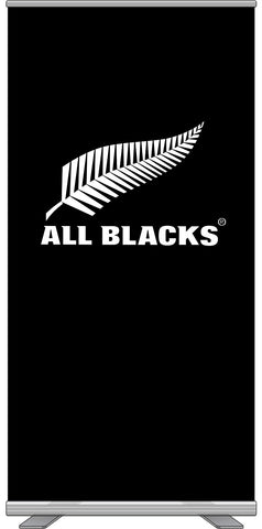 All Blacks®  RollUp Display