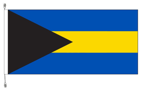 Bahamas Flag - Premium (with exclusive Swivel Clips).