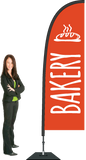 Bakery Flag and Display. SAVE $50.00!   Priced from:
