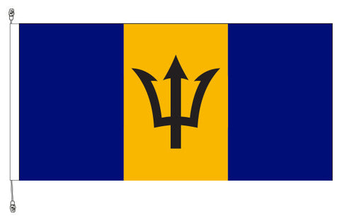 Barbados Flag - Premium (with exclusive Swivel Clips).
