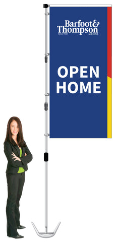 Barfoot & Thompson Durapole XT Display- OPEN HOME