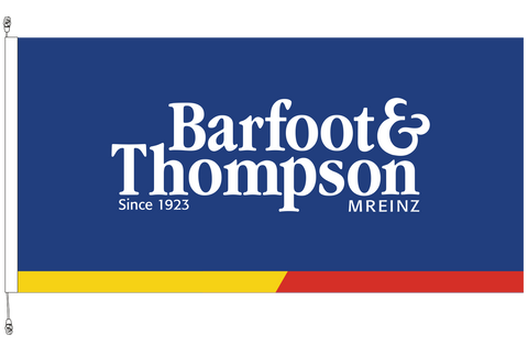 Barfoot & Thompson Standard Flag - Premium Long Life .