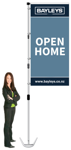 Bayleys Durapole XT Display- OPEN HOME