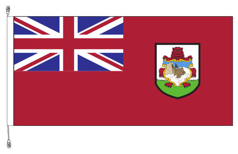 Bermuda Flag - Premium (with exclusive Swivel Clips).