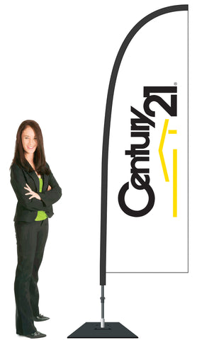 Century 21 Durapole Flex Single Sided Flag Display.
