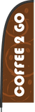 Coffee 2 Go Flag and Display. SAVE $30.00!   Priced from: