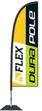 Durapole Flex Single Sided. Long-Life Flags. Life-Time Guarantee on pole!