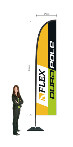 Durapole Flex Super Large 6.3m!
