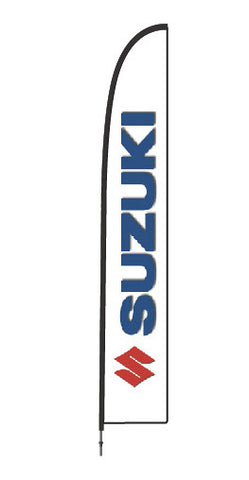 Durapole Flex Branded Car Flags - Suzuki