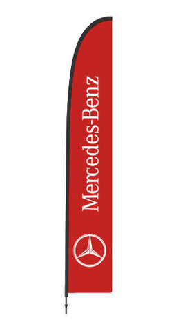 Durapole Flex Branded Flag - Mercedes