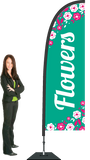 Flowers Flag and Display. SAVE $50.00!  Priced From: